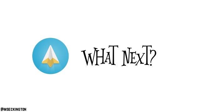 @mseckington What next?