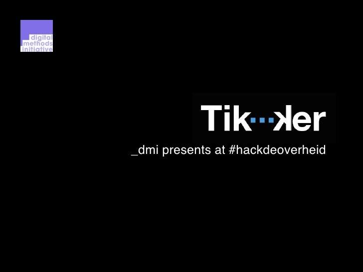 _dmi presents at #hackdeoverheid