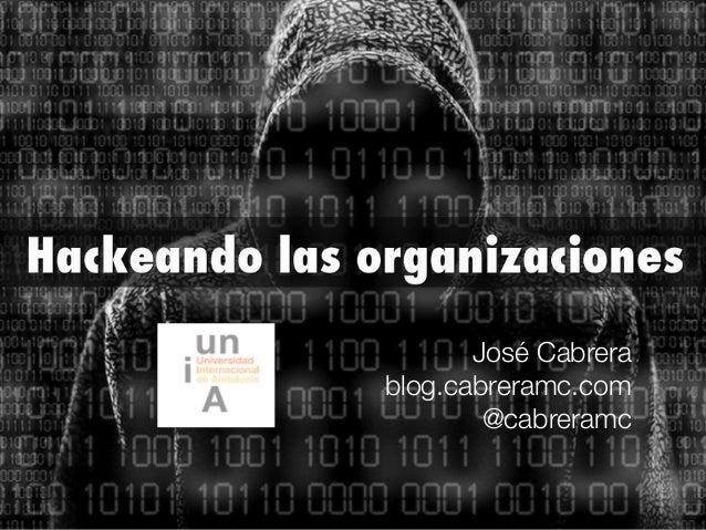 José Cabrera blog.cabreramc.com @cabreramc