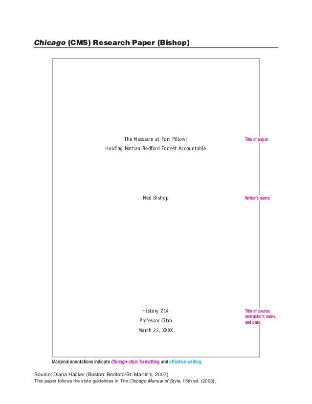Chicago manual of style thesis or dissertation