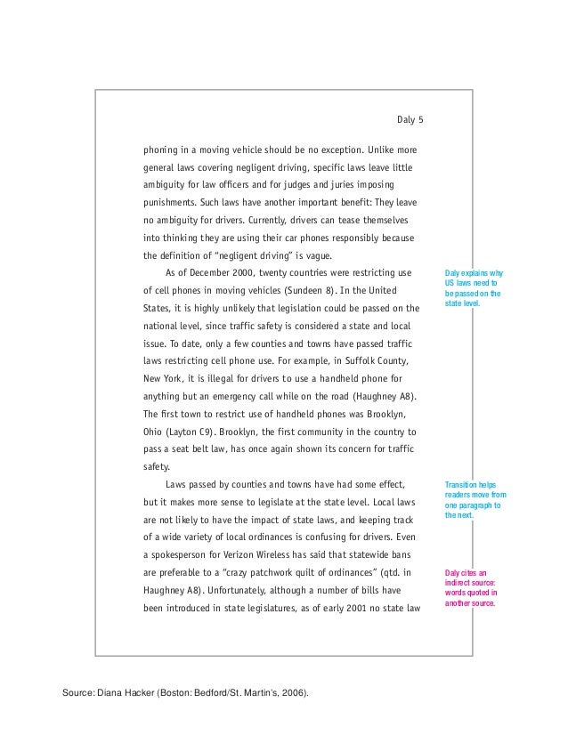 daly mla essay The modern language association or the mla writing format is used what follows are sample numbered headings that can be used as your reference when making headings for your own paper using the mla writing format: soil.
