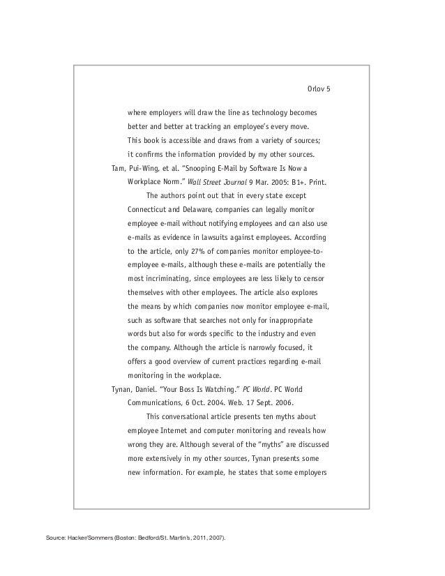 hacker orlov mla annotated bibliography