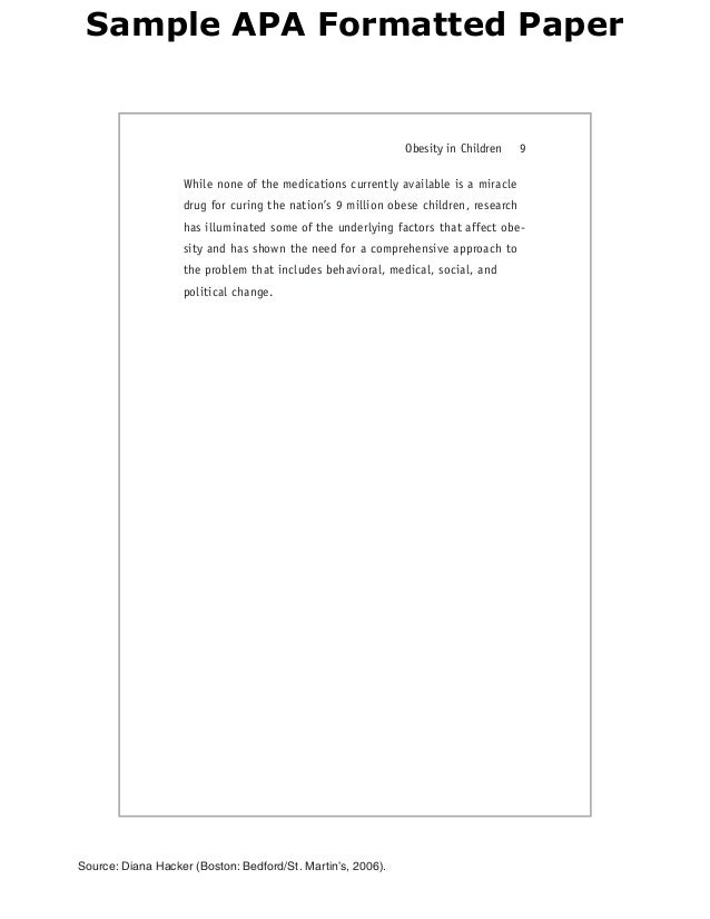 apa formatted paper Sample for students 3 sample apa paper for students interested in learning apa style before getting started you will notice some things about this paper.