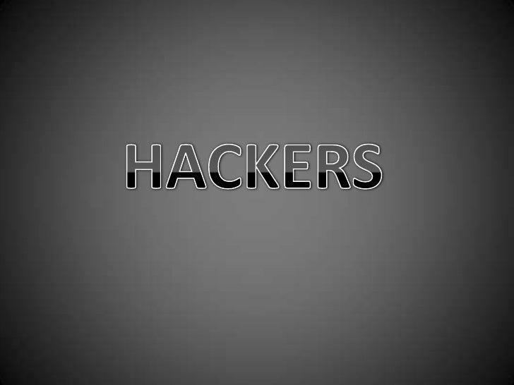Outlines:- Disagreement on the definition of a hacker.- Classification of hacker morally.- Hacker attack methods.- Methods...