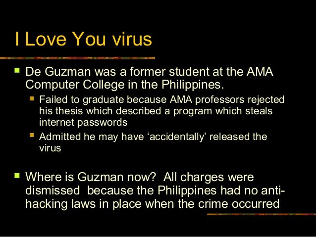 'I Love You' Virus Turns Ten: What Have We Learned?
