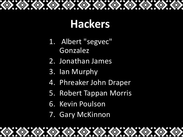 Hacking and Hackers