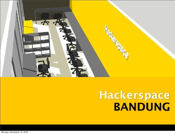 Hackerspace  BANDUNG