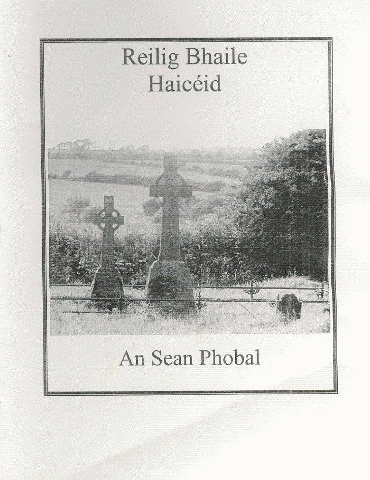 Reilig Bháile Haicéid [Hackettstown Graveyard]