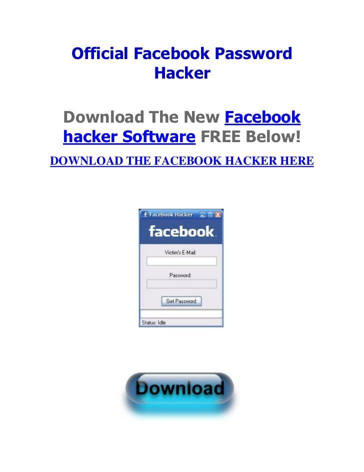 Last ned gratis programvare hack passord facebook