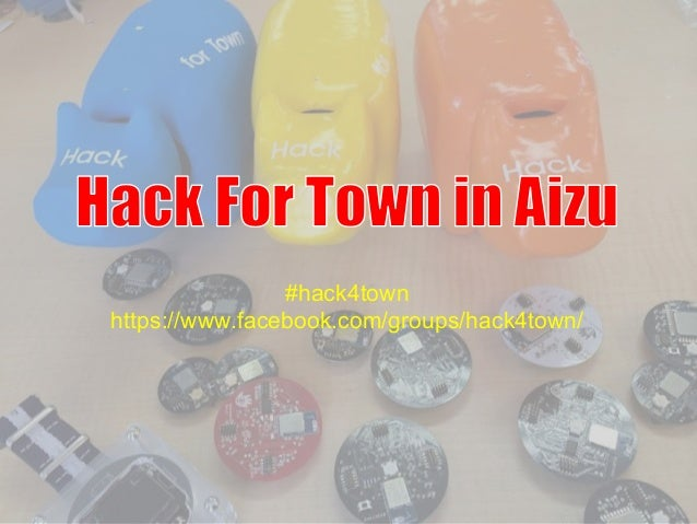 #hack4town https://www.facebook.com/groups/hack4town/