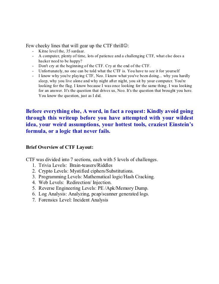 HackIM 2012 CTF Walkthrough
