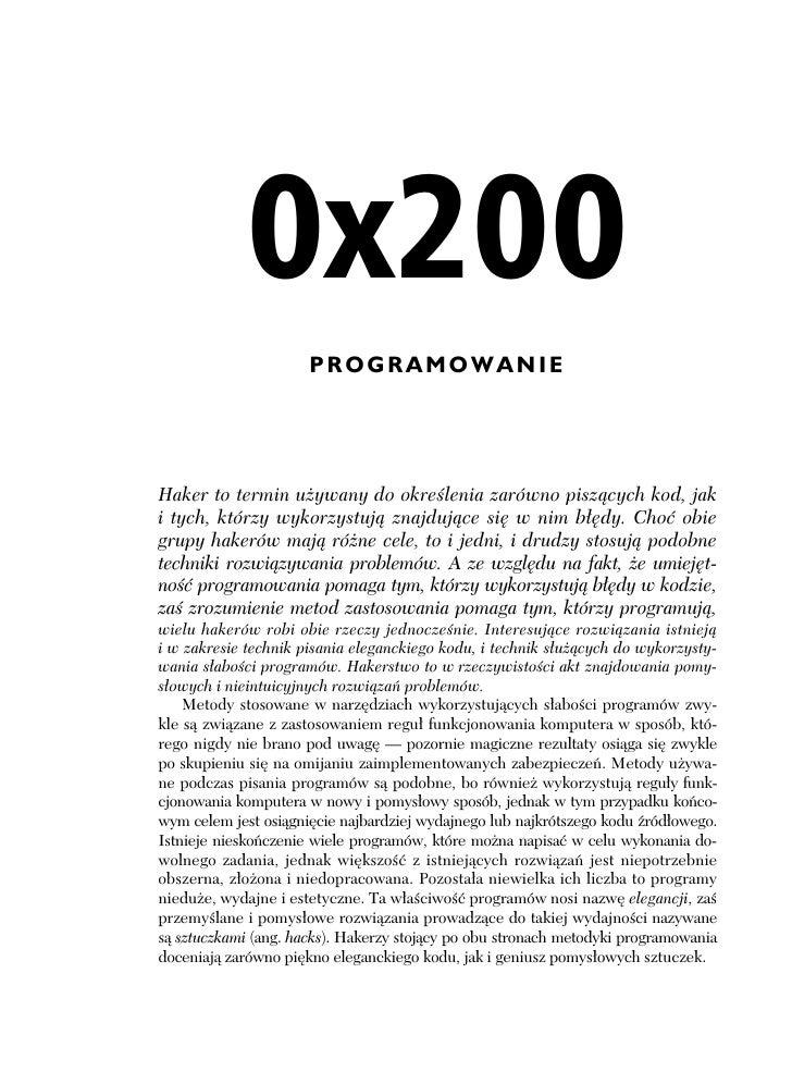 hacking sztuka penetracji pdf