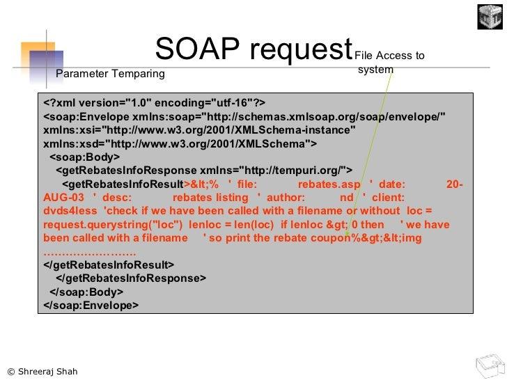 SOAP request <?xml version=&quot;1.0&quot; encoding=&quot;utf-16&quot;?> <soap:Envelope xmlns:soap=&quot;http://schemas.xm...
