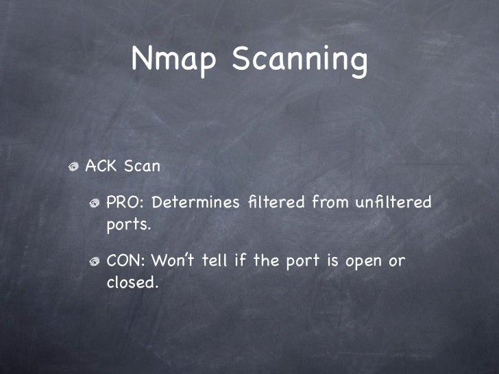 Hacking With Nmap - Scanning Techniques