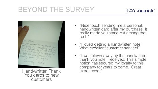 customer survey thank you letters