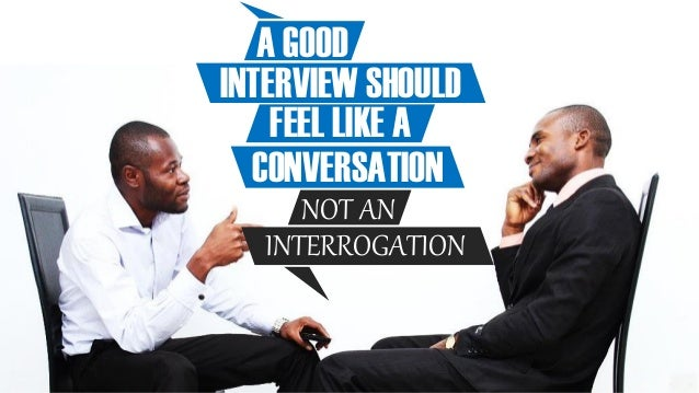 Hacking an Interview using Public Speaking Tips Slide 3