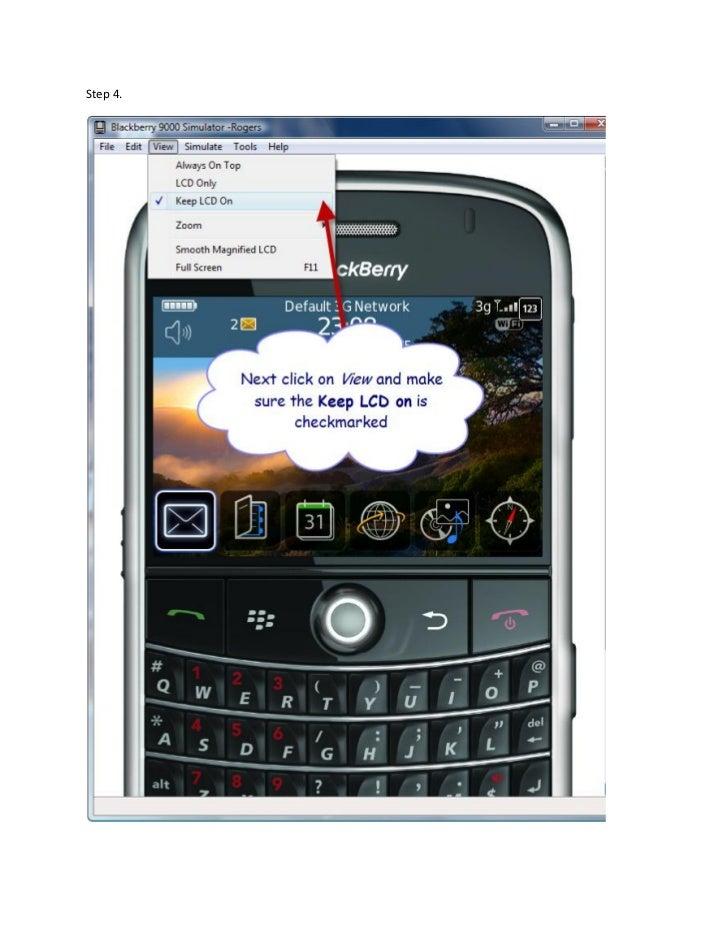 Hacking Blackberry Apps
