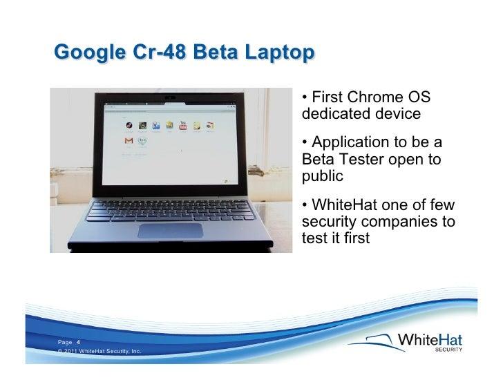 Hacking Google Chrome OS