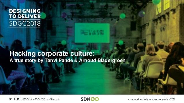 Hacking corporate culture: A true story by Tanvi Pande & Arnoud Bladergroen
