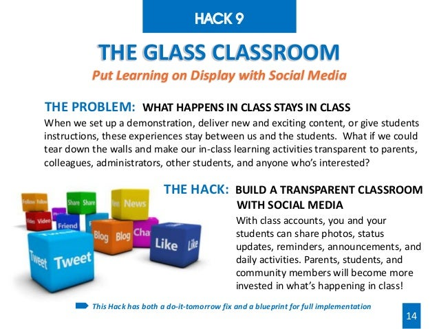 Hacking Education: 10 Quick Fixes for Every School