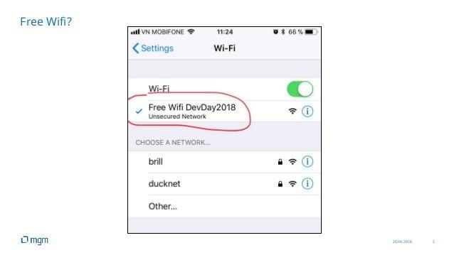 20.04.2018 2 Free Wifi?
