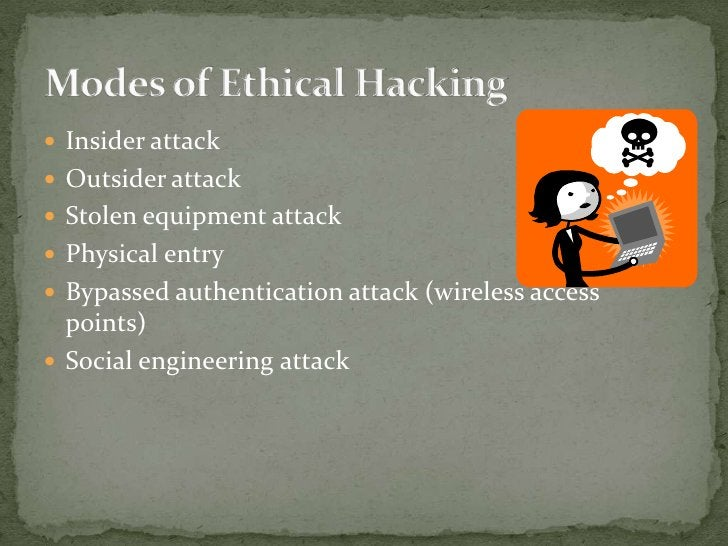HACKER classes</li></li></ul><li>Hacking is not the one which you people think of….<br />It's not the one which you play w...