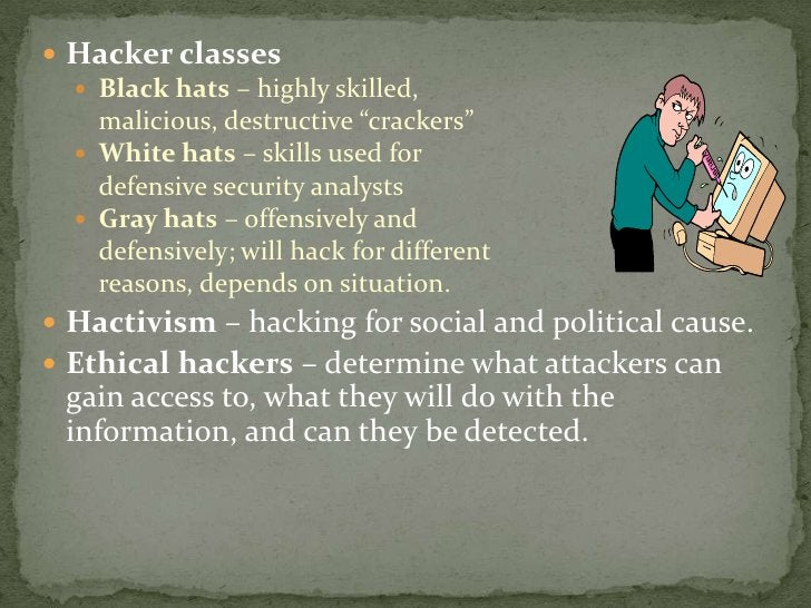 Hackers are here. Where are you? <br />The explosive growth of the Internet has brought many good things…As with most tech...