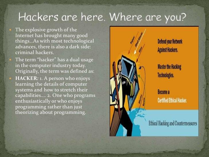 What is a HACKER ?
