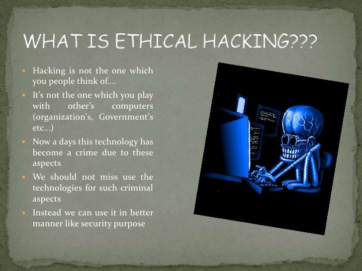 Ppt Ethical Hacking