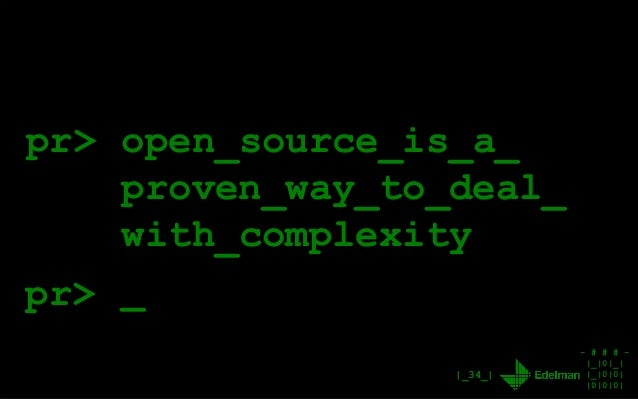 - # # # - |_|0|_| |_|0|0| |0|0|0| |_34_| pr> open_source_is_a_ proven_way_to_deal_ with_complexity _pr>
