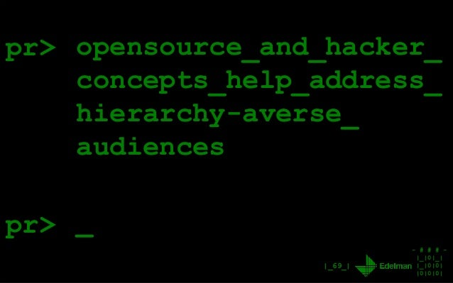 - # # # - |_|0|_| |_|0|0| |0|0|0| |_69_| pr> opensource_and_hacker_ concepts_help_address_ hierarchy-averse_ audiences _pr>