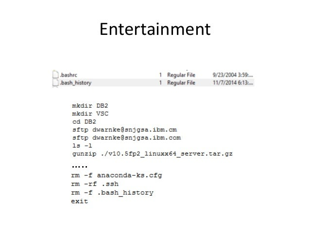 Entertainment …..
