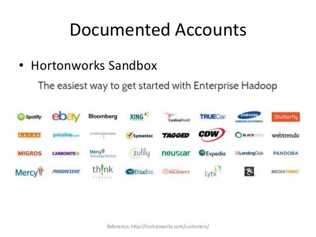 Documented Accounts References: https://github.com/hortonworks/structor http://www.slideshare.net/oom65/structor-automated...