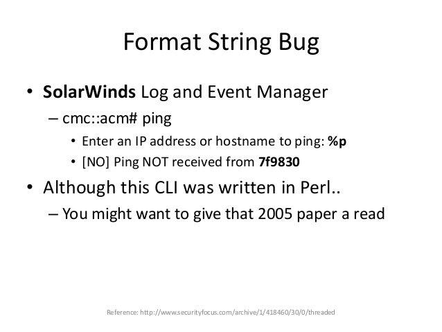 Crazy SUID Binaries • ade # cat suid.log | grep -i shell – /opt/CSCOlumos/bin/runShellCommand – /opt/CSCOlumos/bin/runShel...