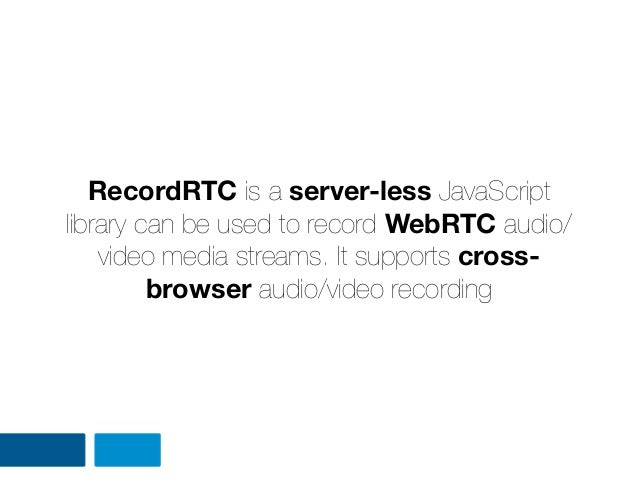 The web can be do that better: Hacking with HTML5 Video, RTC and Shar…