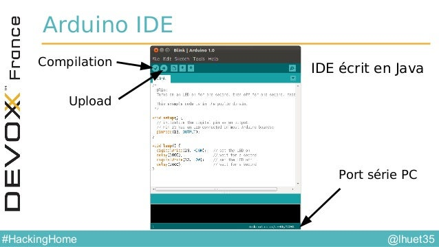 @lhuet35#HackingHome Ecosystème Raspberry Pi •C / C++ • WiringPi • API bas niveau (gpio.h) •Java • Java Embedded • Pi4J - ...