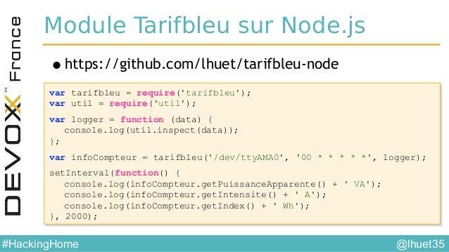 @lhuet35#HackingHome Application Web