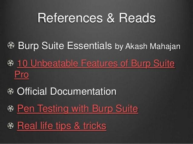 Burp Suite Website