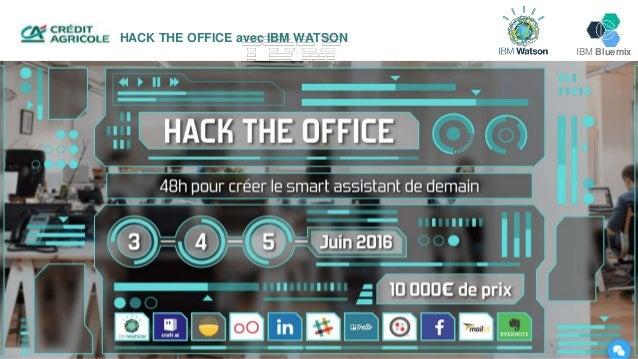 IBM Bluemix HACK THE OFFICE avec IBM WATSON