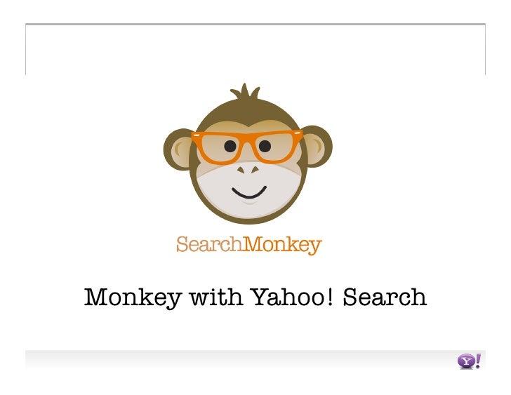 Monkey with Yahoo! Search
