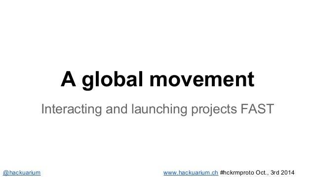 We are project driven  Ideas  Problems  Competences  Prototypes  Documentation  Solutions  www.hackuarium.ch