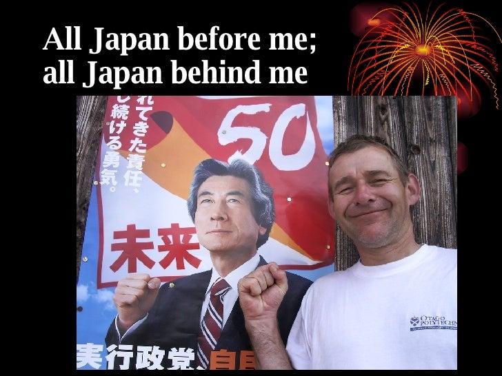 Barefoot through Japan Slide 3