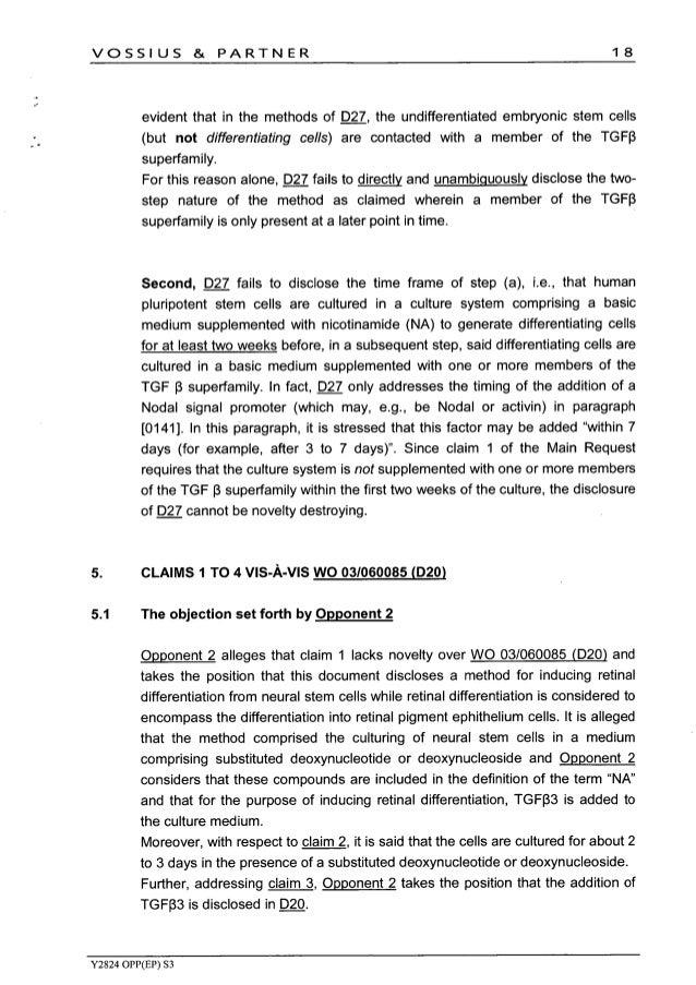 Hadasit EPO Reply to Pfizer et al IP Opposition Feb 2016