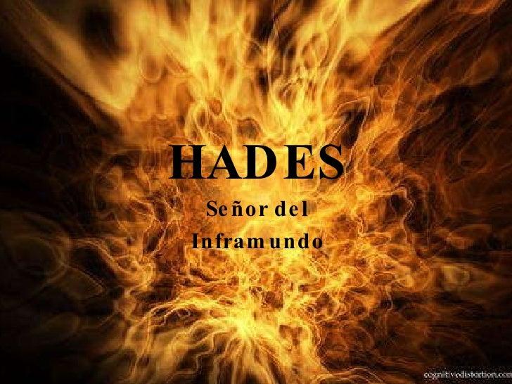 HADES Señor del Inframundo