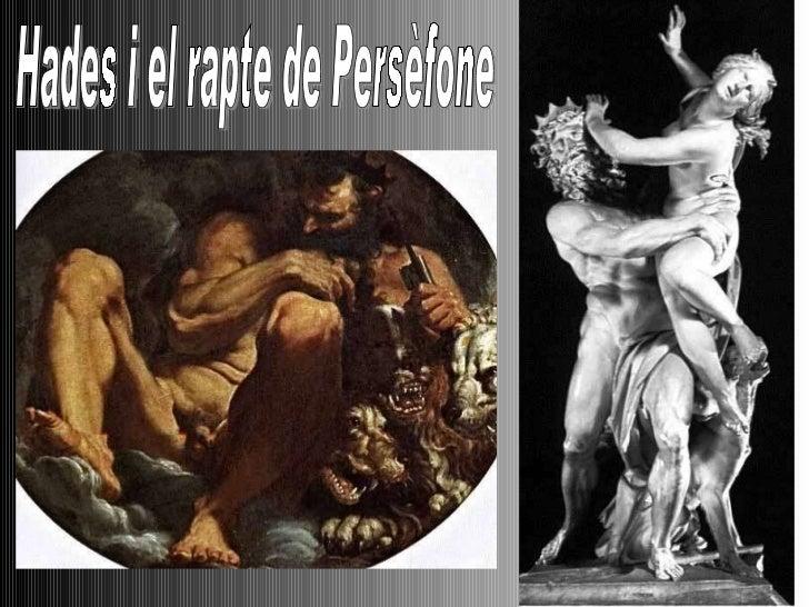 Hades i el rapte de Persèfone