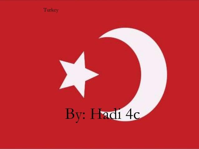 Turkey  TURKEY By Hadi 4c  By: Hadi 4c