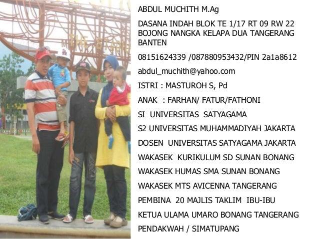 Hadis 2 iman – islam – ihsan masjid al jihad Bonang Tangerang Slide 3