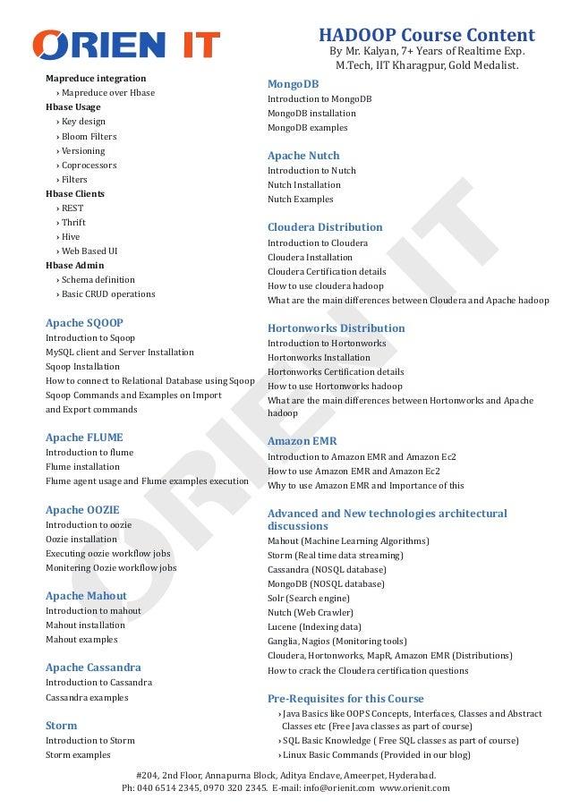#204, 2nd Floor, Annapurna Block, Aditya Enclave, Ameerpet, Hyderabad. Ph: 040 6514 2345, 0970 320 2345. E-mail: info@orie...