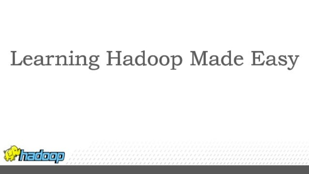 Apache Hadoop is a Java software framework that allows for the distributed processing of large data sets across clusters o...