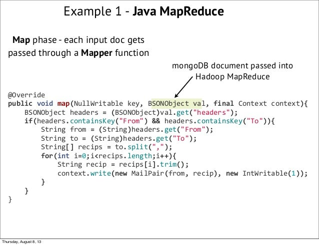webinar what s new with mongodb hadoop integration